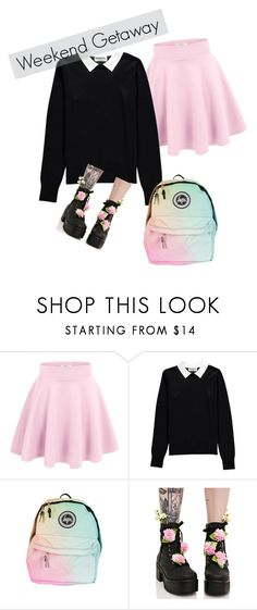 """Pastel Goth"" by mollycj on Polyvore featuring Essentiel and Sugarbaby"