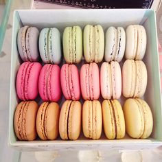 Where to find the best #macarons in Melbourne / the love assembly