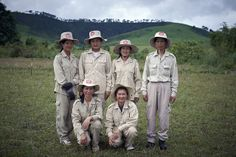 Many of the brave de-miners working for the UNDP-supported UXO Lao are women. They work long days in the fields, rain or shine, scanning the ground inch by inch to make the country safer for the future generations. Here is an all-female clearance team from Xieng Khuang, Northern Laos. They all are true heroes! Photo: Stan Fradelizi/UNDP Lao PDR