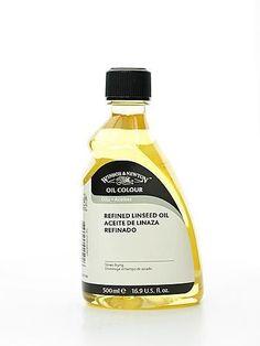 Winsor & Newton Linseed Oil - 500 ml