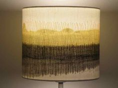 Handmade Lampshades : Painted, stitched and hand rolled by Textile Artist : Dionne Swift taking inspired from the landscape. Bespoke commissions welcomed. Lampshade Designs, Lampshade Ideas, Handmade Lampshades, Painting Lamp Shades, Free Machine Embroidery, Textile Artists, Light Shades, Hobbies And Crafts, Contemporary Artists