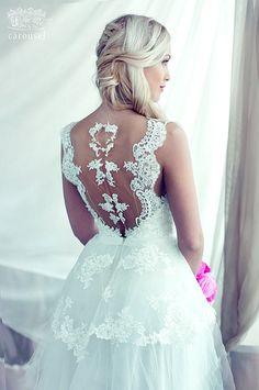 Wedding gown / Geneviève por CarouselFashion en Etsy, $1250.00