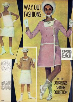 1965 fashions from Courreges