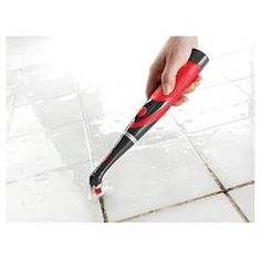This Rubbermaid Reveal scrubber is literally the best tool I have for cleaning. It's great for tile, grout and hard-to-reach spaces! Grout Cleaner, Brush Cleaner, Glitter Grout, Glitter Nikes, Floor Grout, Clean Tile Grout, Tile Grout Cleaning, How To Clean Grout, House Cleaning Tips