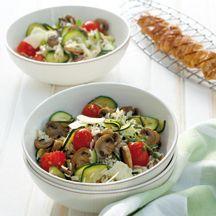 weight Watchers - Mediterrane rijstsalade - 9pt Eventueel met extra kip
