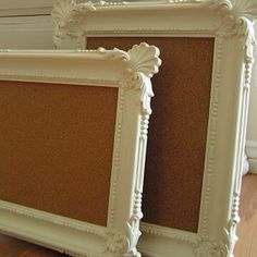 Picture frame cork boards