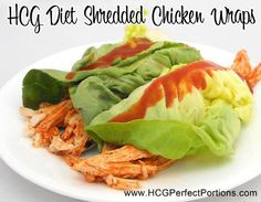 This HCG recipe for HCG Shredded Chicken Wraps is super yummy. Plus the HCG safe BBQ sauce gives it a tangy flavor that I ♥! Meat Recipes, Chicken Recipes, Cooking Recipes, Healthy Recipes, Free Recipes, Hcg Meals, Phase 2 Hcg Recipes, Detox Recipes, Eating Clean