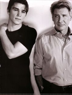 Josh and Harrison Ford.