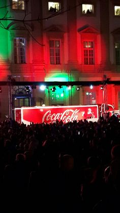 CocaCola Truck in Vienna Vienna, Coca Cola, Truck, Neon Signs, Explore, Coke, Trucks, Cola, Exploring