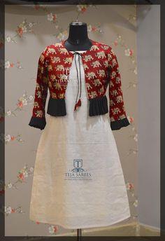 Silk Kurti Designs, Kalamkari Designs, Kurta Designs Women, Salwar Designs, Kurti Designs Party Wear, Pakistani Fashion Party Wear, Pakistani Dress Design, Kalamkari Skirts, Indian Designer Outfits