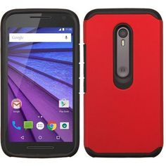 MYBAT Neo Astronoot Motorola Moto G 3rd Gen Case - Red/Black