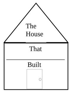 house outline Doodle Templates House template, House