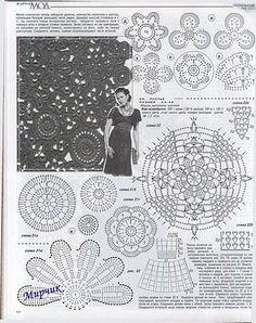 Letras e Artes da Lalá: Conjunto de crochê