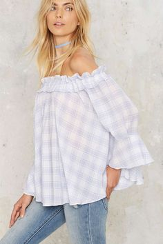Check Her Out Off the Shoulder Top   Shop Clothes at Nasty Gal!