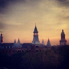 #Baylor University at sunset