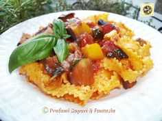Tagliatelle con verdure ricetta veloce  Blog Profumi Sapori & Fantasia