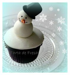 cupcake ideas with snow image