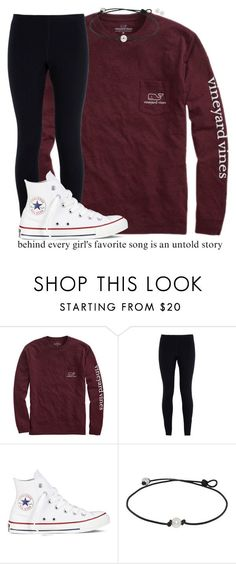 """""""❤️"""" by kreeves7 ❤ liked on Polyvore featuring Vineyard Vines, NIKE, Converse and Carolee Fall College Outfits, Lazy Outfits, Cute Outfits For School, Teen Fashion Outfits, Everyday Outfits, Outfits For Teens, Cool Outfits, Casual Outfits, Tween Fashion"""