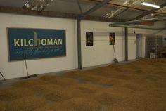 Floor maltings – Kilchoman Destillerie