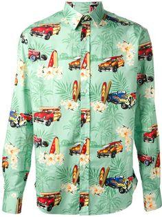 STELLA JEAN Printed Shirt