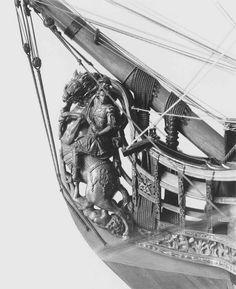 100-gun ship of the line   Museum of Fine Arts, Boston