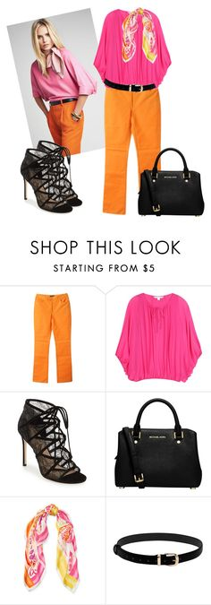 """""""Untitled #455"""" by sylvia-tall ❤ liked on Polyvore featuring Joseph, Diane Von Furstenberg, Pour La Victoire, MICHAEL Michael Kors and Ralph Lauren"""