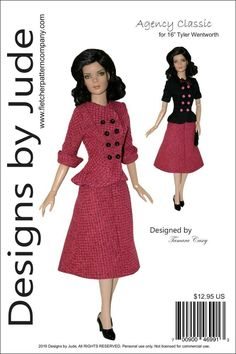 Summer Time Doll Clothes Sewing Pattern for Tyler Tonner