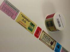 マスキングテープ チケット(mt factory tour限定)