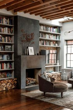 Maura Tierney's Reinvented West Village Town House . Actor Maura Tierney's Reinvented West Village Town House . CUSTOMER Wide Plank Hardwood Flooring: What You Need to Know Architectural Digest, Home Design, Modern Design, Design Ideas, Design Design, Creative Design, Design Inspiration, Light Design, Salon Design