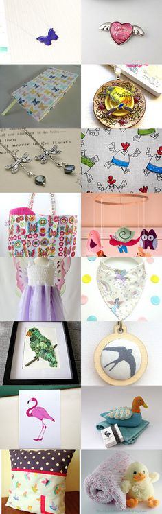 Things with wings by Deanna Sovern on Etsy