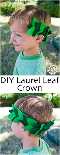 With the Summer Olympics starting this week, we have been talking about the history of the games. This DIY Laurel Leaf Crown is one of our favorite Preschool Arts And Crafts, Fun Arts And Crafts, Kindergarten Crafts, Fun Activities For Kids, Crafts For Kids, Family Activities, Crown Art, Diy Crown, Ancient Olympics
