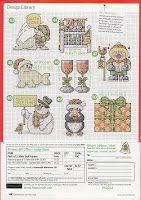 natty's cross stitch corner: 50 Small Christmas Motifs