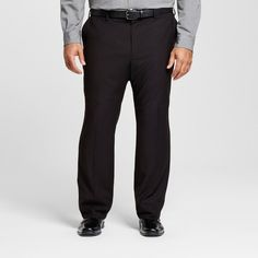 Men's Big & Tall Classic Fit Suit Pants