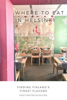 What and where to eat in Helsinki, Finland