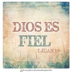 """""""Si confesamos nuestros pecados, Él es fiel y justo para perdonar nuestros pecados, y limpiarnos de toda maldad.""""I Juan 1:9"""