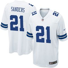youth nike dallas cowboys 21 deion sanders limited white nfl jersey sale