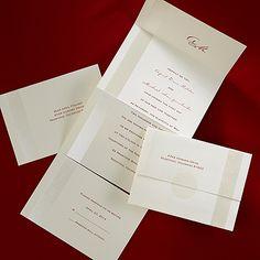 Refined Pearl - Seal 'n Send Invitation - Wedding Invitation Ideas - Wedding Invites - Wedding Invitations - Create a FREE Proof Online - Order Sample Invitations #weddings #wedding #invitations