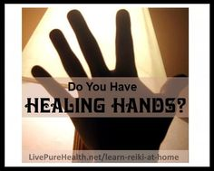Learn Reiki At Home - Healing Hands. If you want to learn how to do Reiki, this is a great home study attunement system for beginners. Feel the wonderful benefits of Reiki energy and share this healthy practice with your family. Find out exactly what is Reiki, and more on my website.