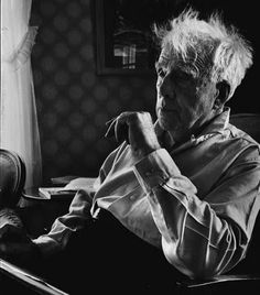 Robert Frost, Ripton, Vermont, 1955, by Alfred Eisenstaedt ©Time Inc