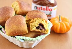 One of my goals during this pumpkin baking season is to try to improve upon some of my favorite recipes from last year. One of my favorite recipes last year were these soft and fluffy pumpkin spice bread rolls. I decided to make a sweeter version by adding a hidden filling of Nutella. The bread …