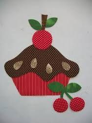 Resultado de imagen para moldes de frutas para aplicar em pano de prato