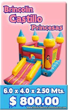 El castillo que necesita toda princesa y mas si es la festejada de la fiesta!!!