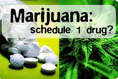 Marijuana is not a schedule 1 drug