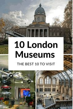 London Museums | London Travel | London Galleries Ten magnificent museums based right in the heart of the city, most of them completely free, and all considered some of the best in the world. European Destination, European Travel, Travel Themes, Travel Destinations, World Of Wanderlust, London Museums, London Art, Ultimate Travel, Cheap Travel