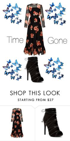 """""""time is gone"""" by marthagoldfield ❤ liked on Polyvore"""