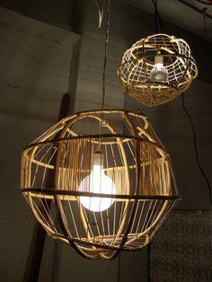 bamboo ball lamp, modern lighting interior design