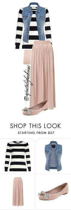 """Apostolic Fashions #977"" by apostolicfashions on Polyvore featuring maurices, Steve Madden and Kate Spade"