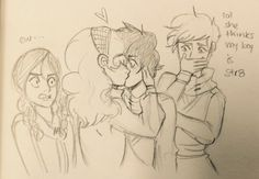 When Celia kissed Call in TCG XD THEY ARE MY NOTP THOUGH I TOTALLY SHIP CALRON