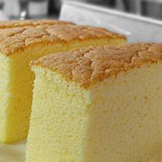 "Ogura cake, aka 相思蛋糕, hails from Batu Pahat , Malaysia. ""Ogura"" is a Japanese surname; ""相思"" means lovesick. Is there a love story behind th. Cupcake Recipes, Cupcake Cakes, Dessert Recipes, Cake Videos, Food Videos, Bolo Chiffon, Ogura Cake, Bolo Cake, Cake Flour"