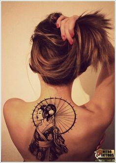 significado de tatuaje de geisha